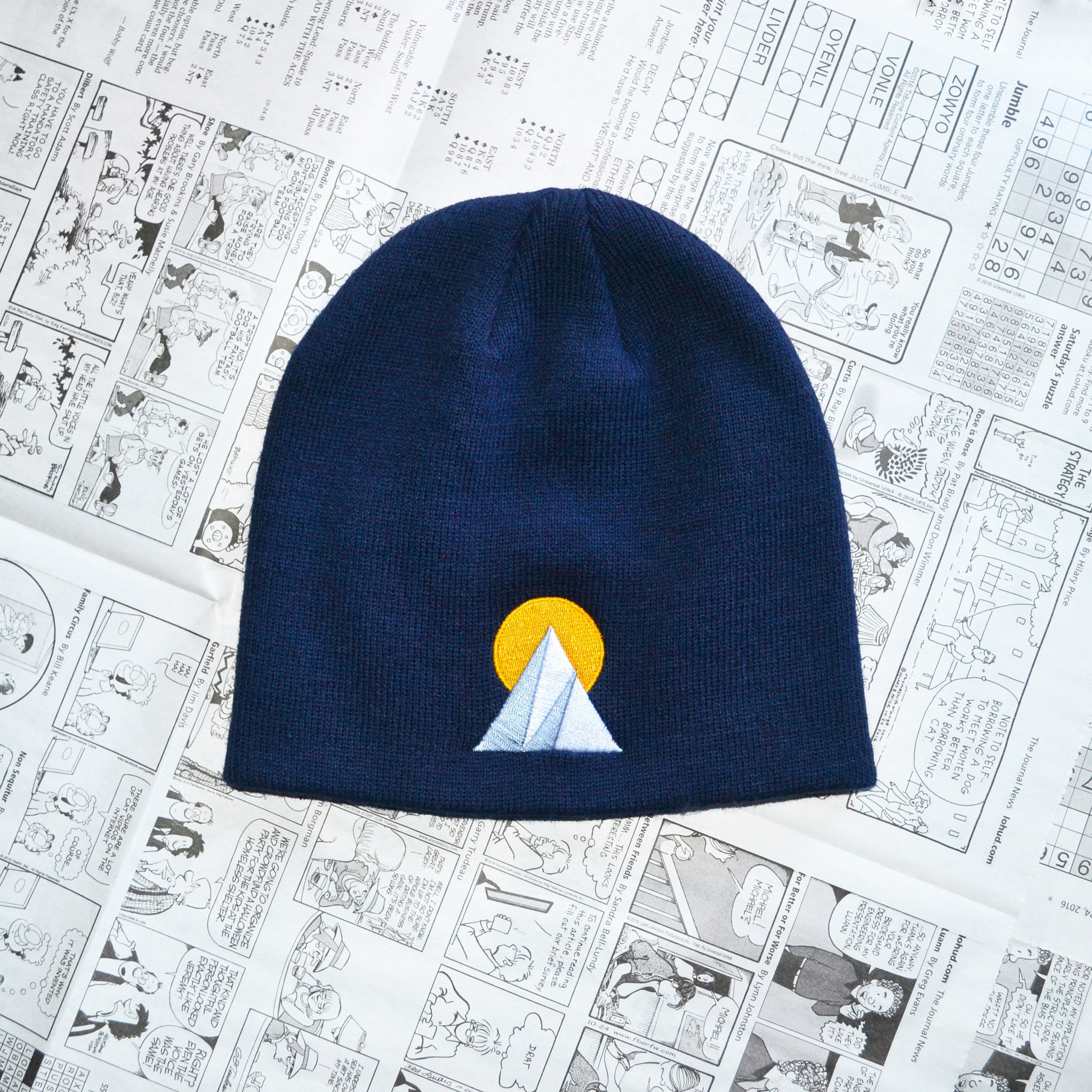 """CLIMB EVERY MOUNTAIN"" BEANIE"