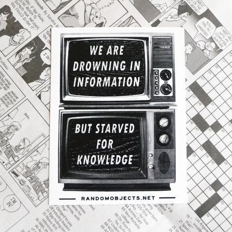 KNOWLEDGE STICKER