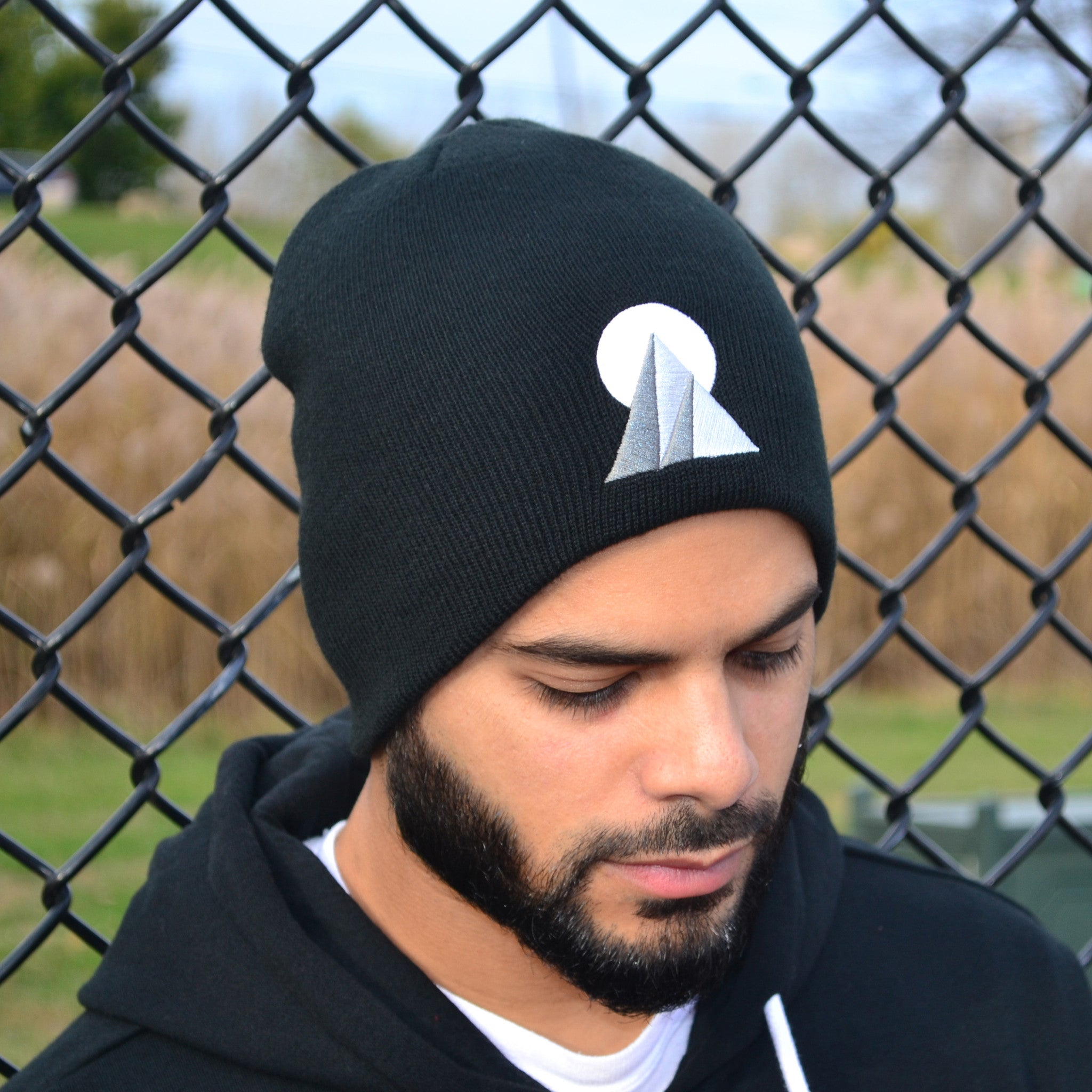 """CLIMB EVERY MOUNTAIN"" BEANIE (BLACK)"