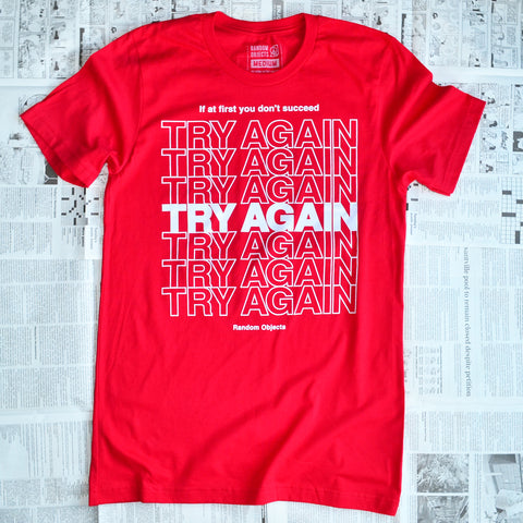 TRY AGAIN (RED)