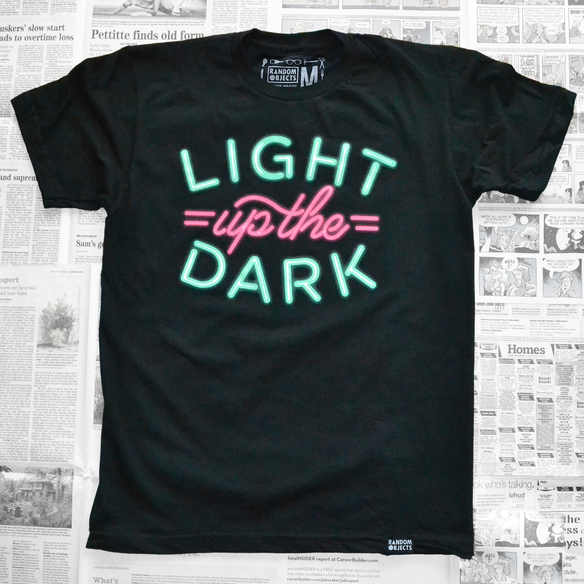 LIGHT UP THE DARK