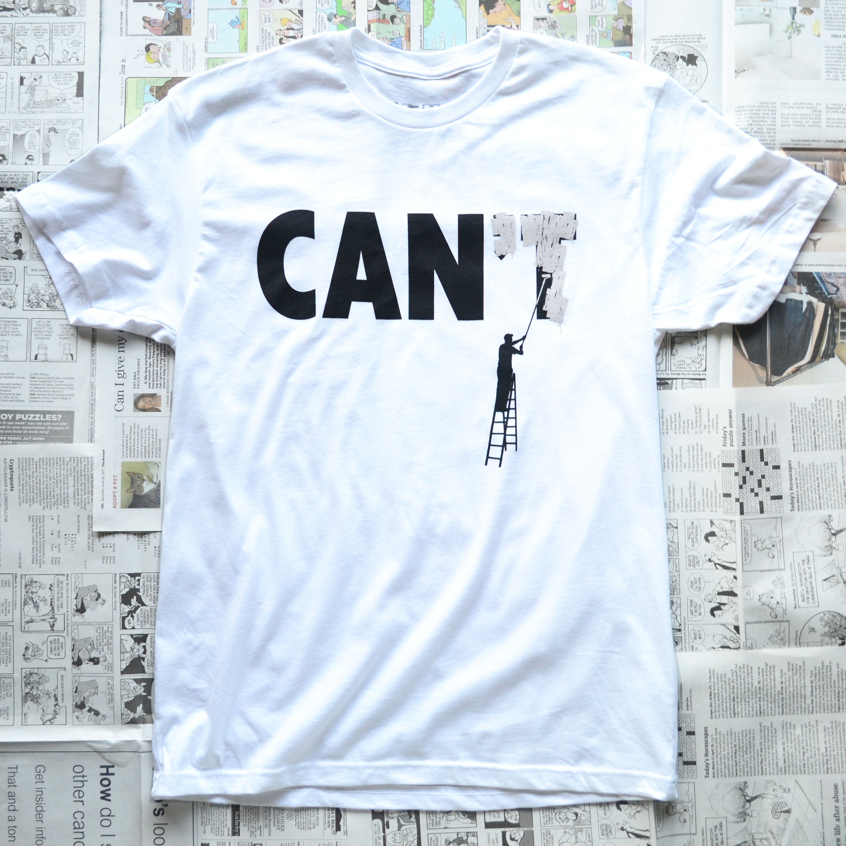 CAN OR CAN'T (WHITE)