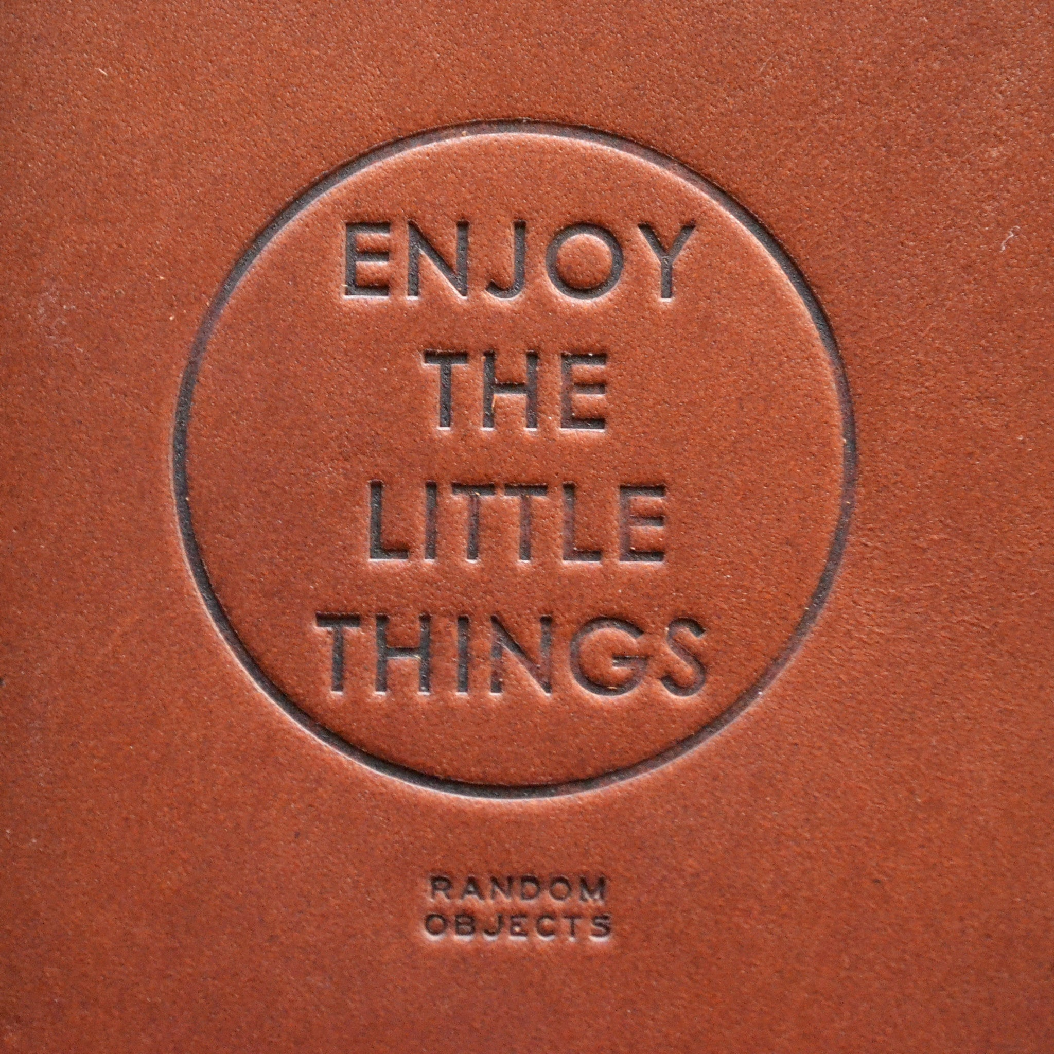 """LITTLE THINGS"" TRAVELER'S WALLET"