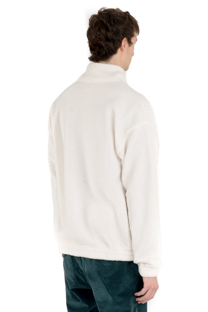 Teddy Half Zip 2.0 - Cream