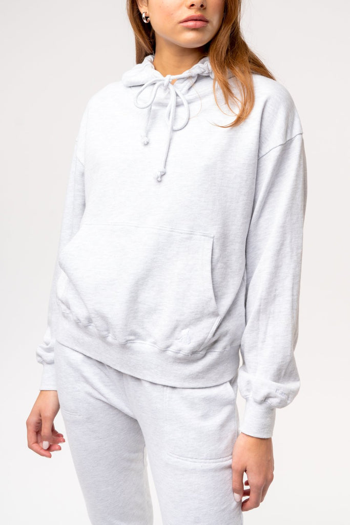 Womens Perfect Hoodie - Athletic Grey