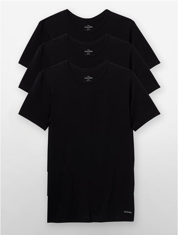 Black Crew-Neck Tee Pack
