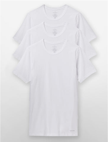 White Crew-Neck Tee Pack