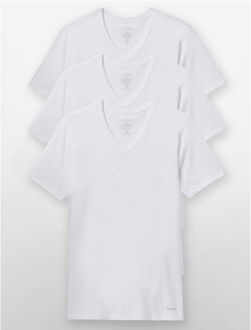 White V-Neck Tee Pack