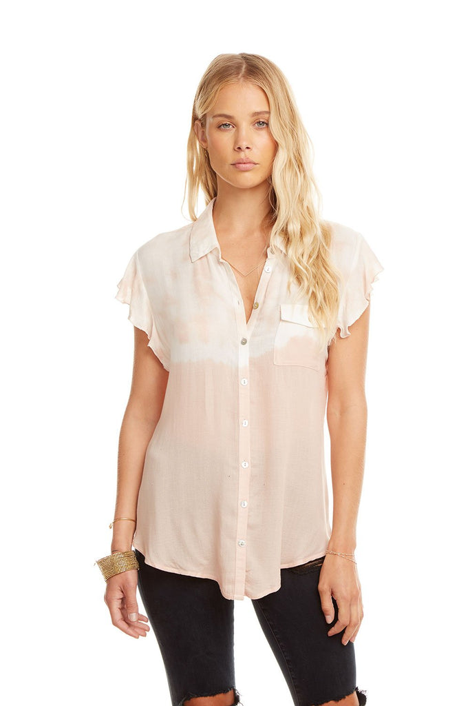 Button Down - Dip Dye