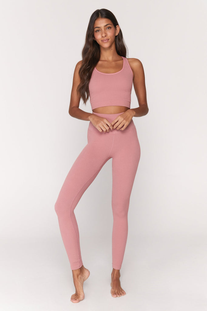 Metta Legging - Rose