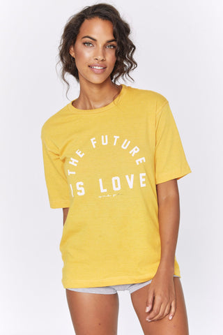 Future Is Love Tee - Sunflower