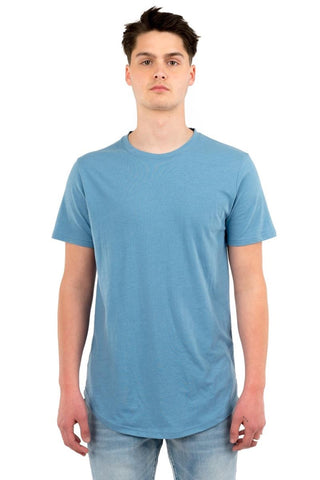 Eazy Scoop Tee - Blue Steel