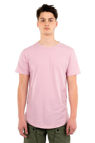 Eazy Scoop Tee - Dusty Pink