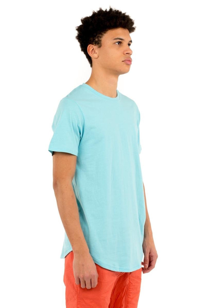 Eazy Scoop Tee - Aqua