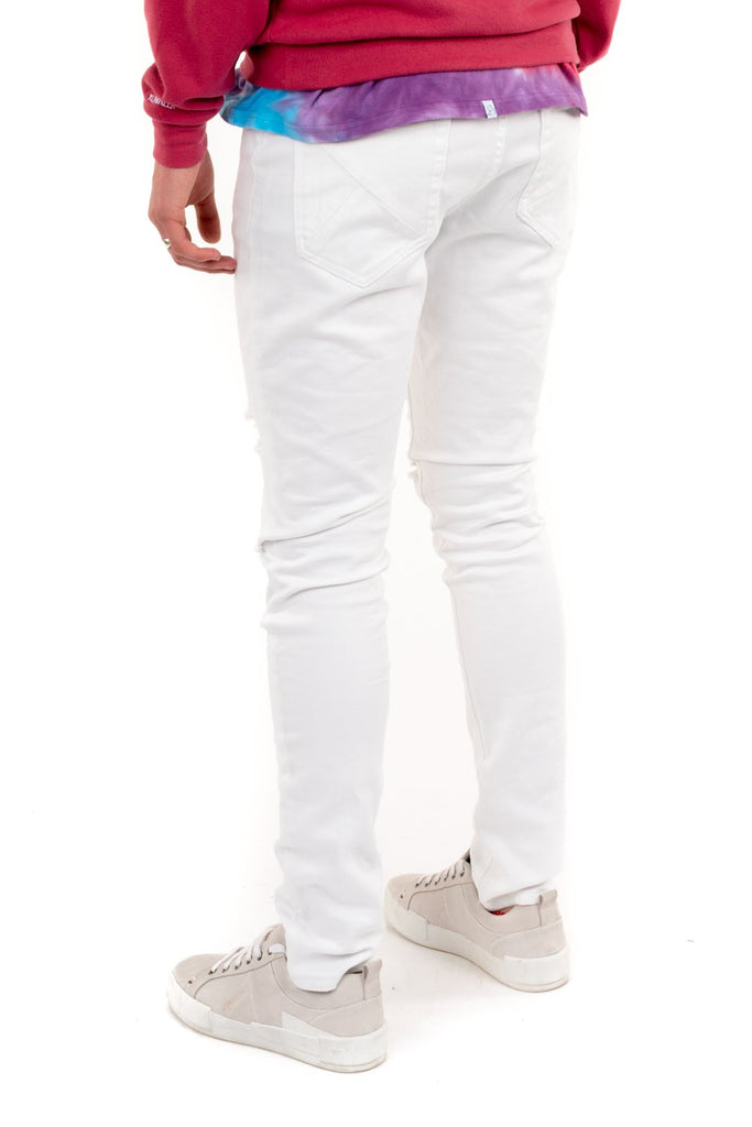 Slasher Denim - White