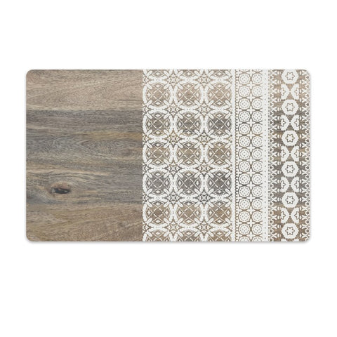 Moroccan Wood Pet Placemat