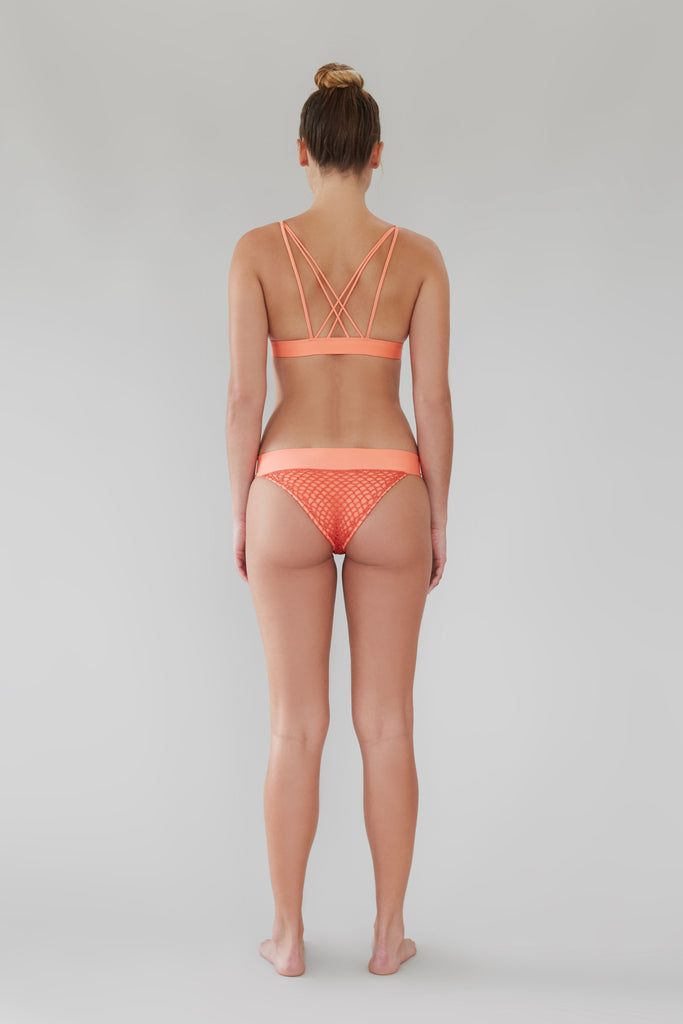 Hamptons Crochet Bottom - Apricot