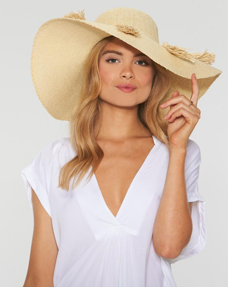 Beach Weekend Hat - Natural