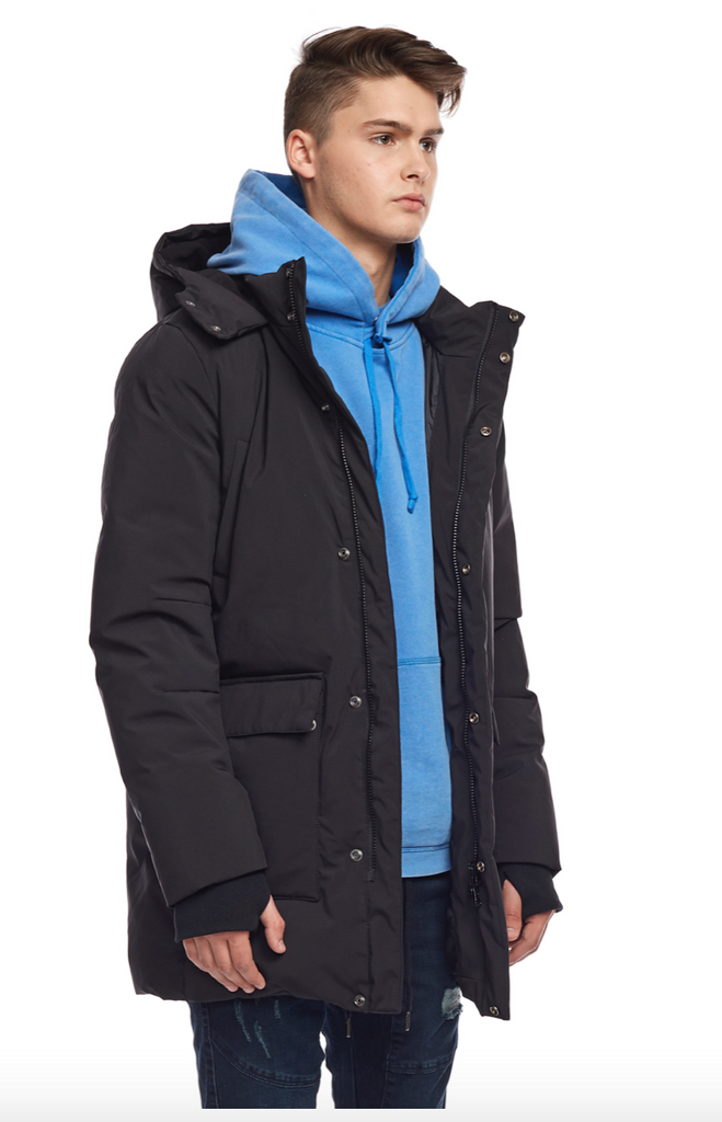Down Parka 300 - Black