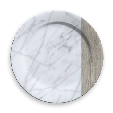 Carrara & French Oak Charger