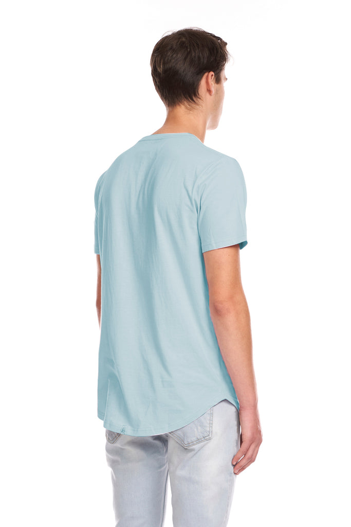 Scoop Tee - Baby Blue
