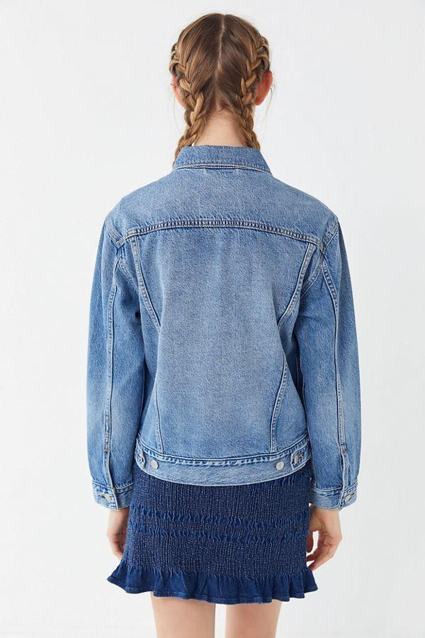 Ex Boyfriend Trucker Jacket - Medium Wash