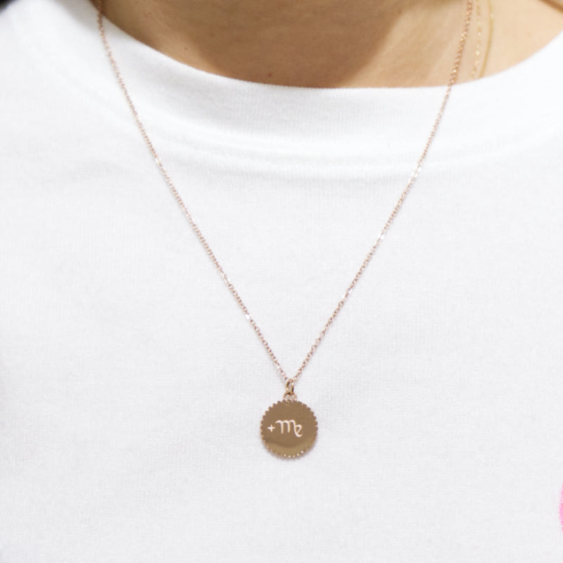 Minimal Zodiac Necklace