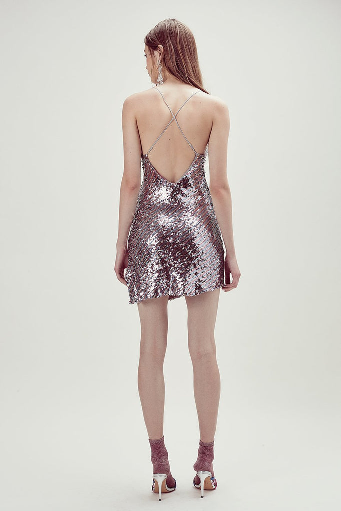 Showtime Sequinned Dress