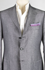 New $4800 Cesare Attolini Light Gray Sportcoat 38/48