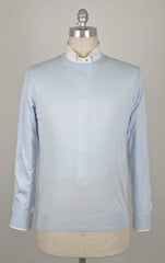 $700 Cesare Attolini Light Blue Sweater Size XL (US) / 54 (EU)