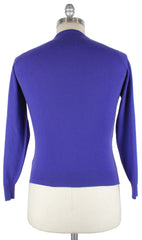 New $1050 Cesare Attolini Purple Sweater - Crewneck - Small/48 - (B1283)