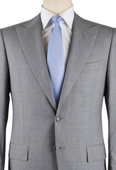 New $6300 Cesare Attolini Light Gray Suit 48/58