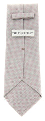 "New $195 Tie Your Tie Gray - Beige, Red Tie - 3.25"" x 58"""