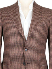 New $6600 Cesare Attolini Brown Sportcoat 38/48