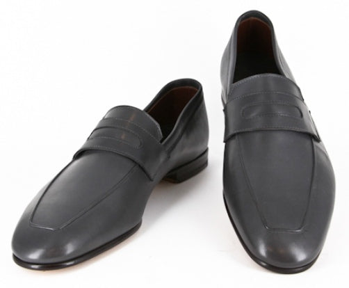 $925 Max Verre Gray Shoes Loafers - Size 11 (US) / 10 (EU) - (116VITELLGRAY)