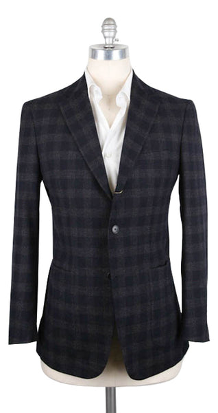 New $7300 Luciano Barbera Navy Blue Sportcoat - 40/50 - (101H35/22100/988)