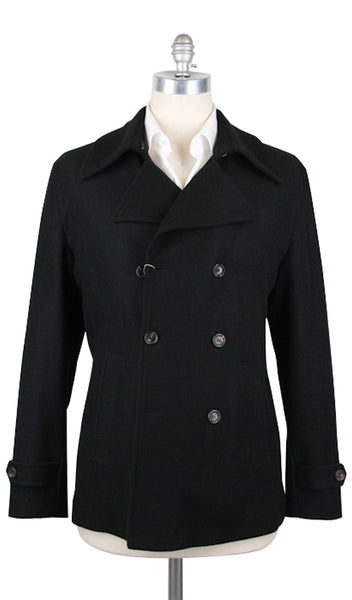Luciano Barbera Black Jacket – Size: 40 US / 50 EU  Outerwear - ShopTheFinest- Luxury  Italian Designer Brands for men