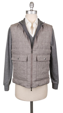 Brunello Cucinelli Reversible Brown Vest