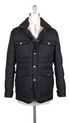 $6195 Brunello Cucinelli Dark Gray Waterproof Puffer Jacket - L US/52 EU (604)