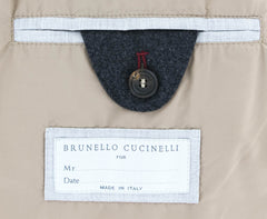 $6195 Brunello Cucinelli Dark Gray Waterproof Puffer Jacket - (604) - Parent