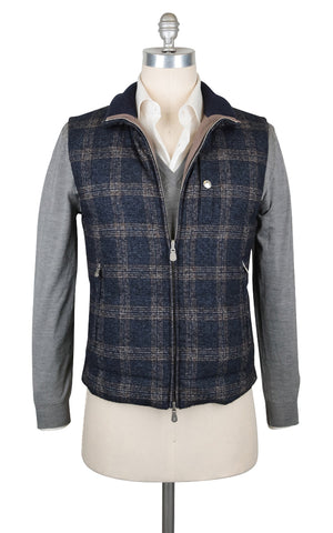 Brunello Cucinelli Dark Blue Reversible Vest