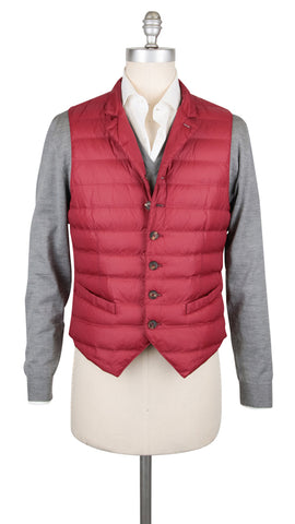 Brunello Cucinelli Red Water Repellent Vest