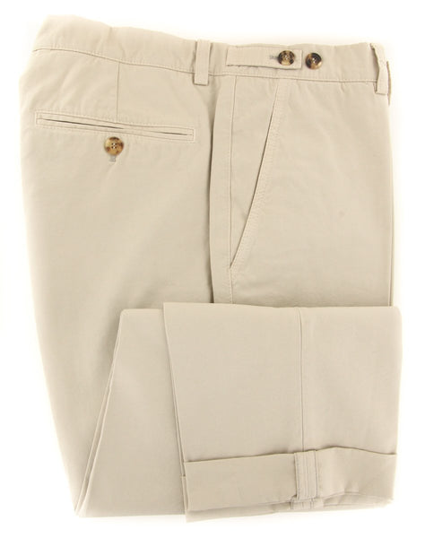 $595 Brunello Cucinelli Beige Pants - Slim - (BC2232M49PC1532) - Parent