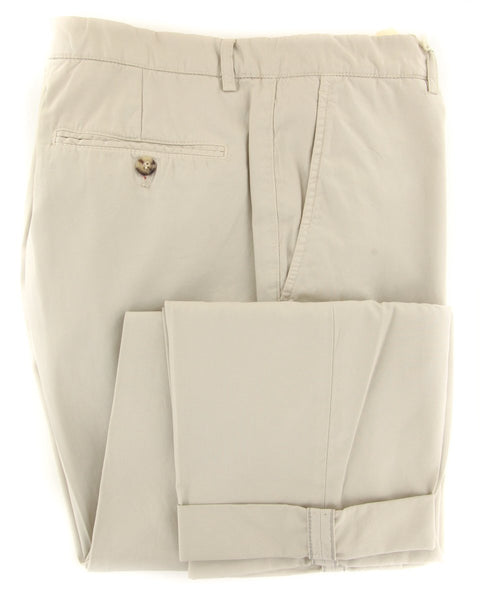 $595 Brunello Cucinelli Beige Pants - Slim - (BC5862M58PC1532) - Parent