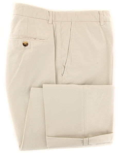 $595 Brunello Cucinelli Beige Pants - Slim - (BC5862M058PC1531) - Parent