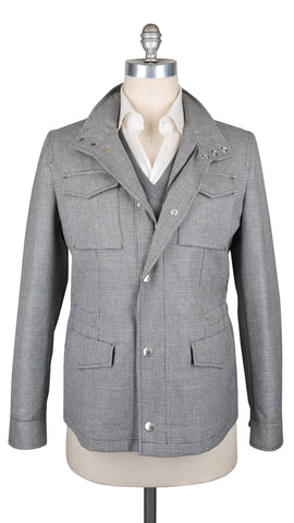 Brunello Cucinelli Gray Jacket