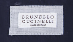 $2995 Brunello Cucinelli Gray Cotton Micro-Houndstooth Jacket - (NA) - Parent