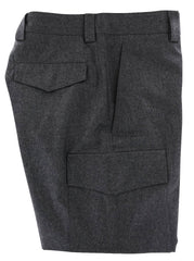 $1245 Brunello Cucinelli Charcoal Gray Melange Wool Pants - Slim - 38/54 - (431)