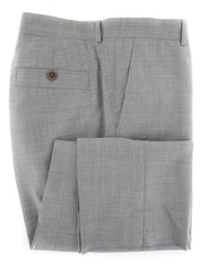 $635 Brunello Cucinelli Light Gray Melange Wool Pants - Slim - 40/56 - (VG)