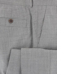 $635 Brunello Cucinelli Light Gray Melange Wool Pants - Slim - (VG) - Parent